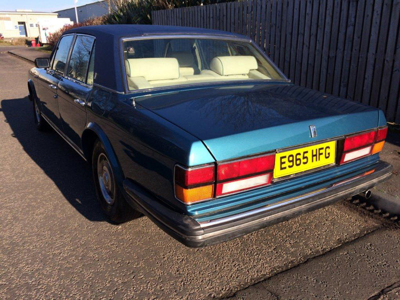 1988 Rolls Royce Silver Spirit For Sale by Auction 23rd Feb SOLD by Auction (picture 5 of 5)