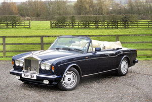 1989 Rolls-Royce Corniche II Convertible **SOLD** For Sale