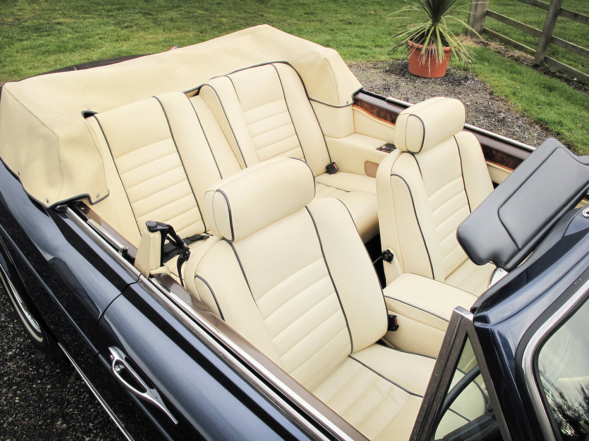 1989 Rolls-Royce Corniche II Convertible **SOLD** For Sale (picture 4 of 6)