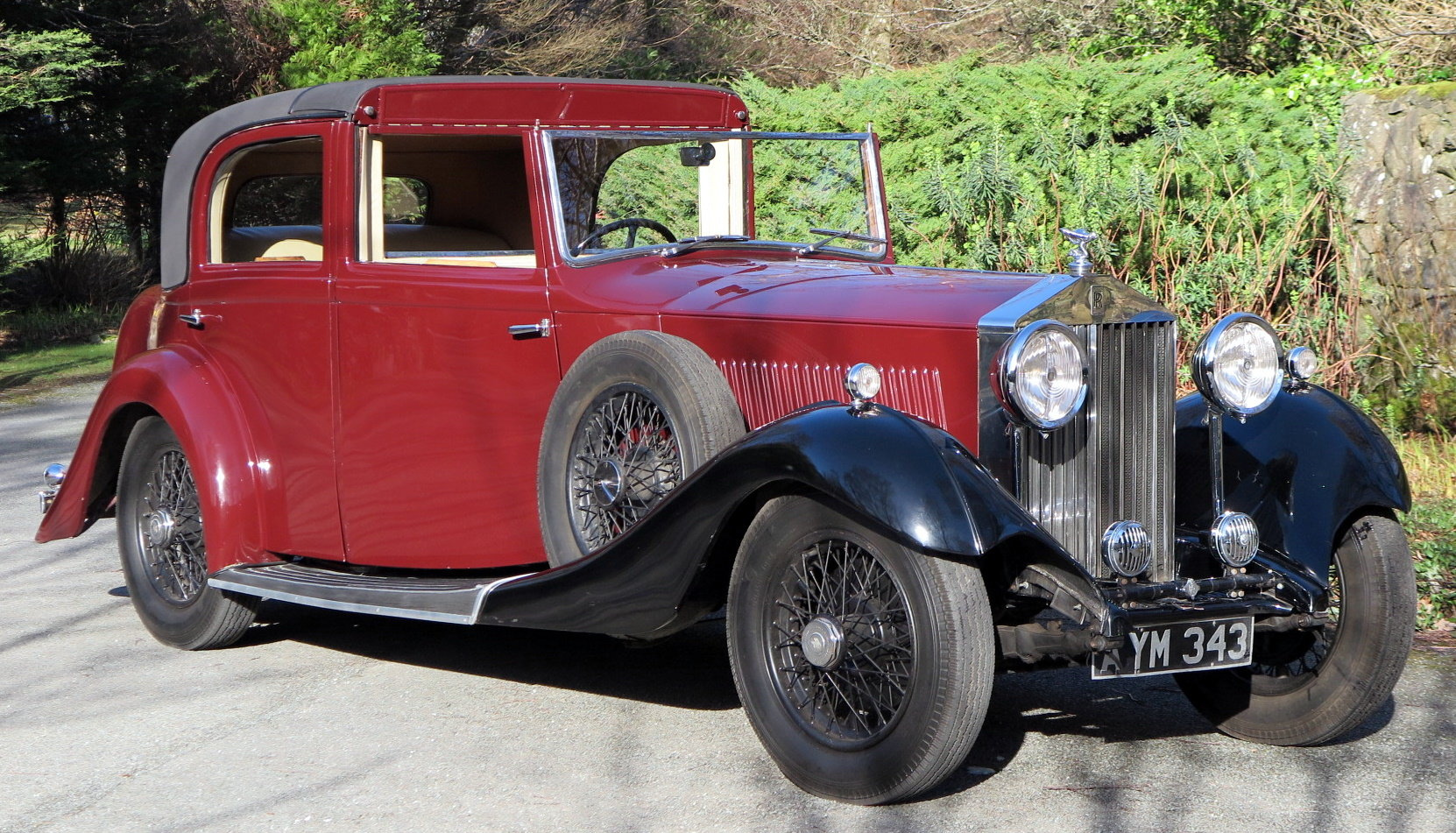 1934 Rolls-Royce 20/25 Gurney Nutting Sedanca de Ville GLB3 For Sale (picture 1 of 6)