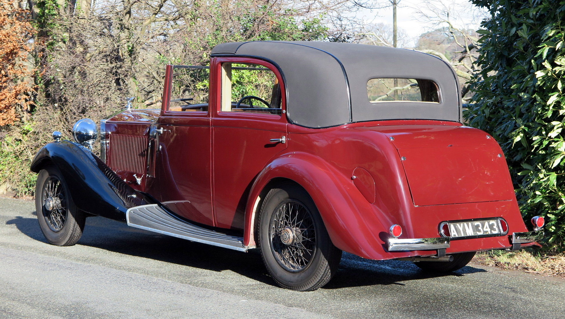 1934 Rolls-Royce 20/25 Gurney Nutting Sedanca de Ville GLB3 For Sale (picture 2 of 6)