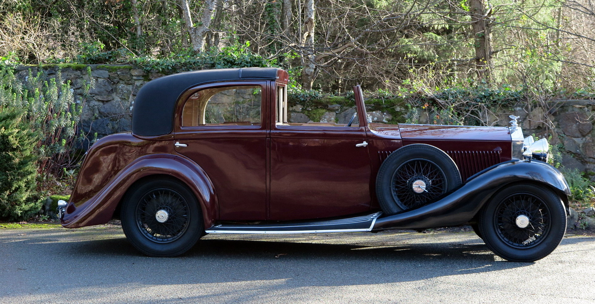 1934 Rolls-Royce 20/25 Gurney Nutting Sedanca de Ville GLB3 For Sale (picture 3 of 6)