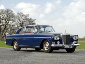 1965 Rolls-Royce Silver Cloud III Two-Door Saloon For Sale by Auction
