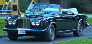 1987 Rolls Royce Corniche 2 LHD For Sale