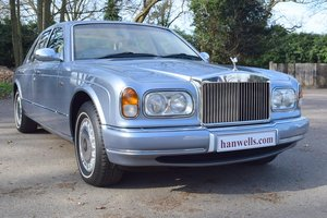 1998 S Rolls Royce Silver Seraph in Fountain Blue For Sale