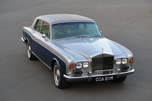 1974 ROLLS ROYCE CORNICHE FHC For Sale