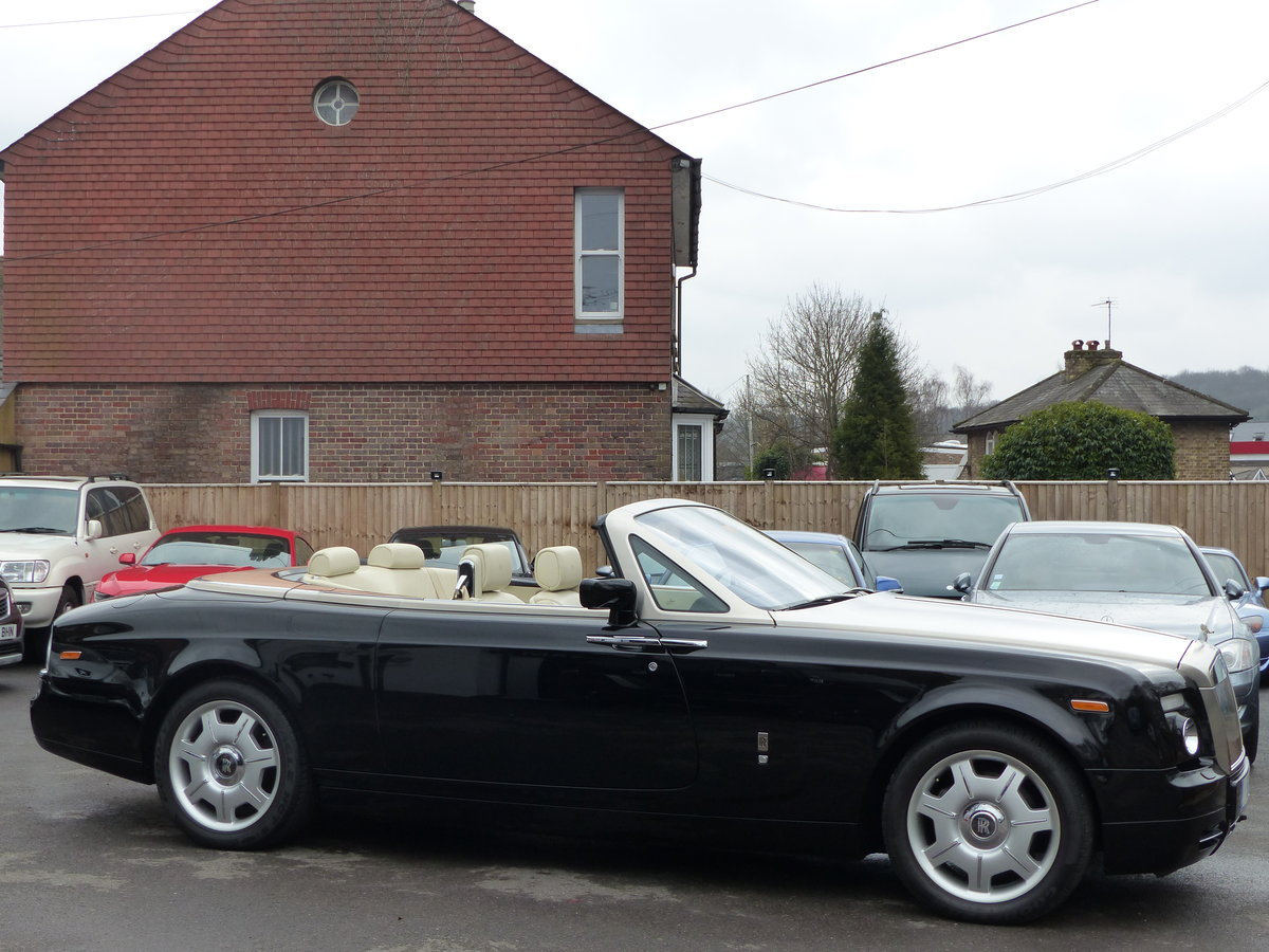 2007 ROLLS-ROYCE PHANTOM DROPHEAD 6.7 V12 AUTO + LEFT HAND DRIVE For Sale (picture 1 of 6)