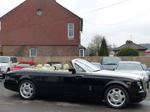2007 ROLLS-ROYCE PHANTOM DROPHEAD 6.7 V12 AUTO + LEFT HAND DRIVE For Sale