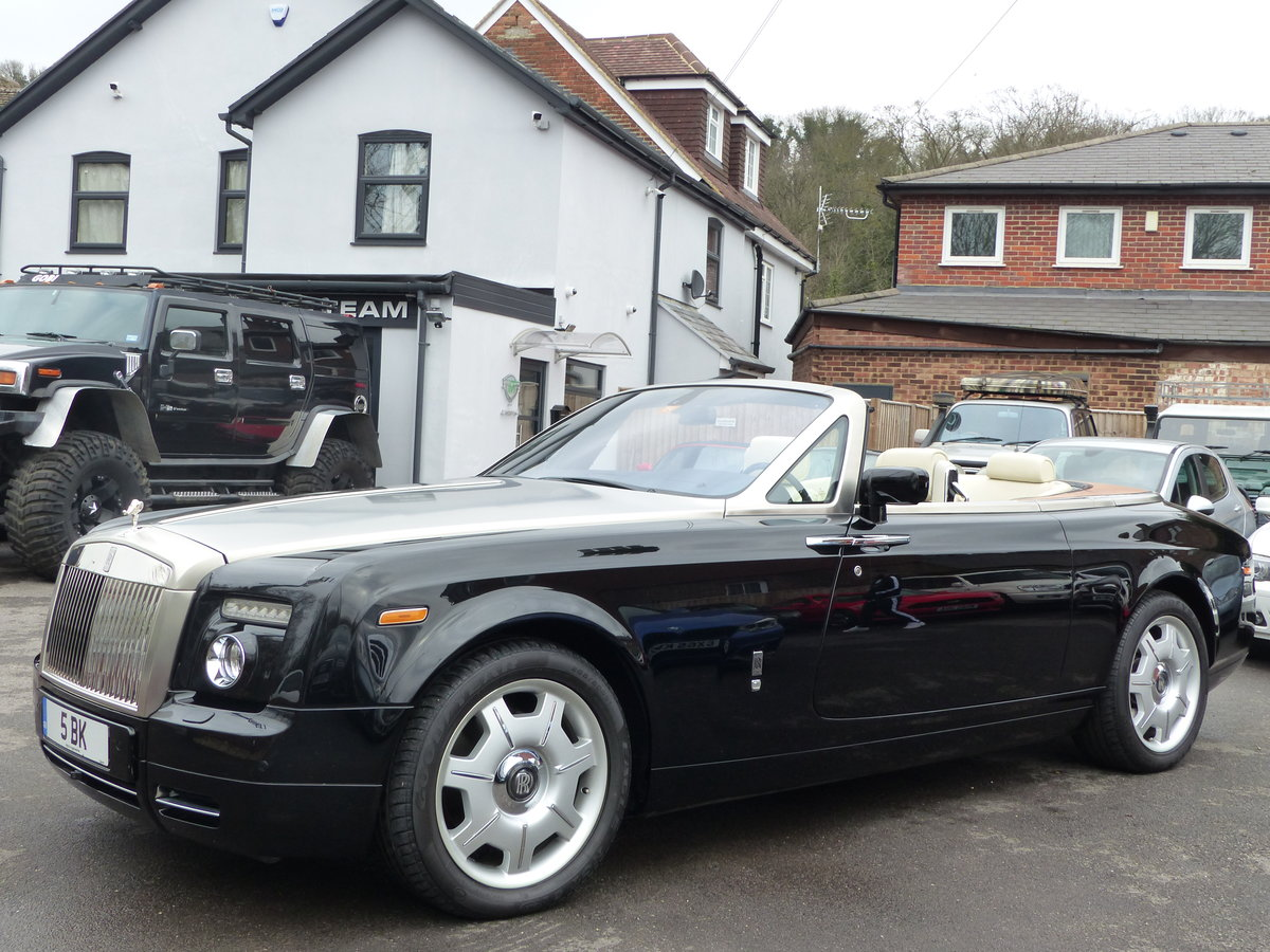 2007 ROLLS-ROYCE PHANTOM DROPHEAD 6.7 V12 AUTO + LEFT HAND DRIVE For Sale (picture 3 of 6)