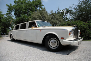 1976 silver shadow limousine 6,5 meter long For Sale