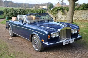1985 Rolls Royce Corniche Convertible S2  £25 - £30K  For Sale by Auction