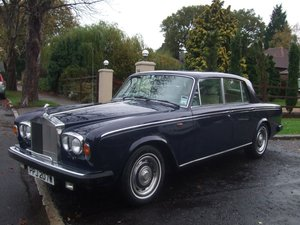 1980 ROLLS ROYCE SILVER SHADOW 2  W REG FINAL SERIES