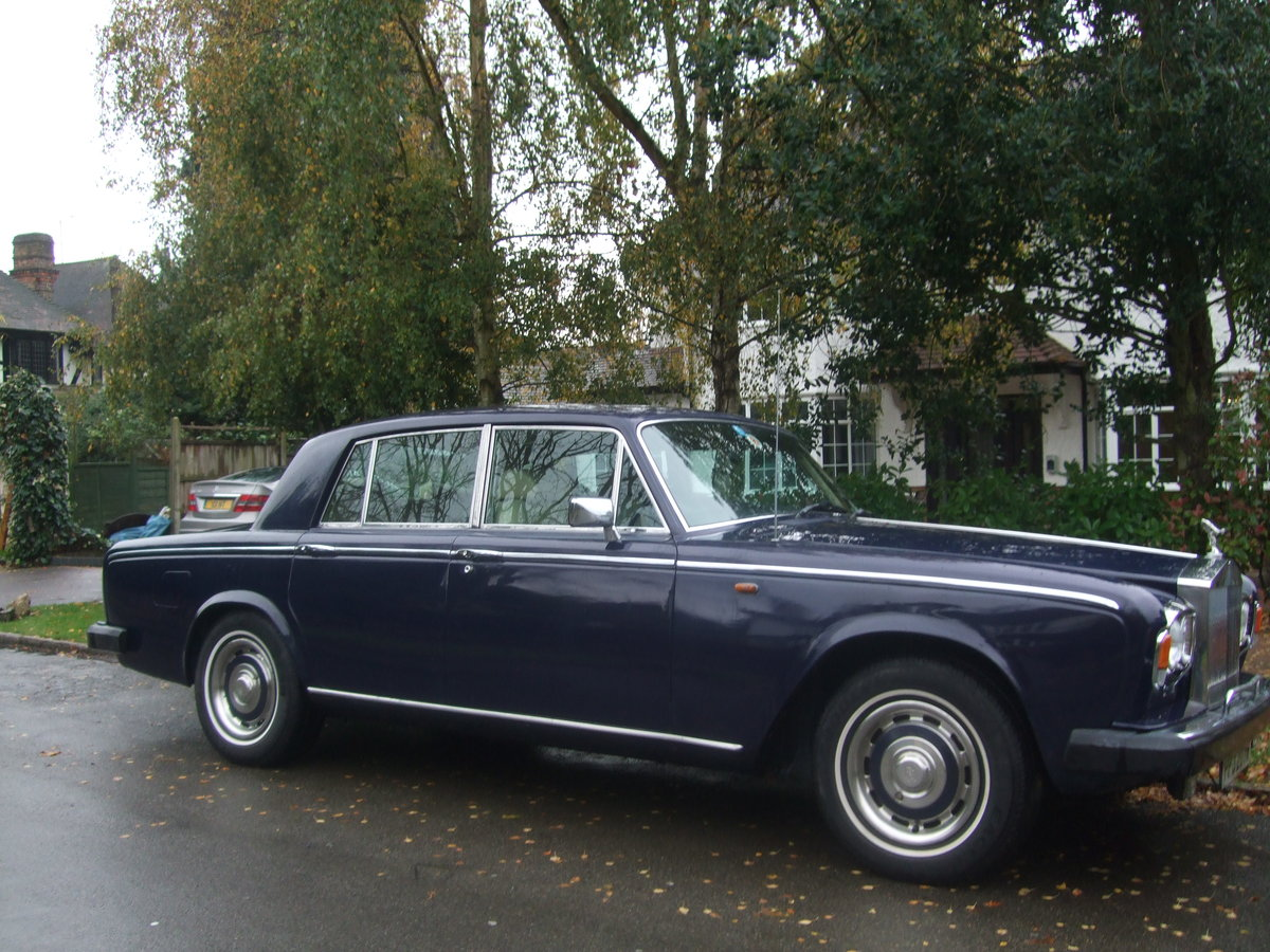ROLLS ROYCE SILVER SHADOW 2 1980 W REG FINAL SERIES For Sale (picture 5 of 12)