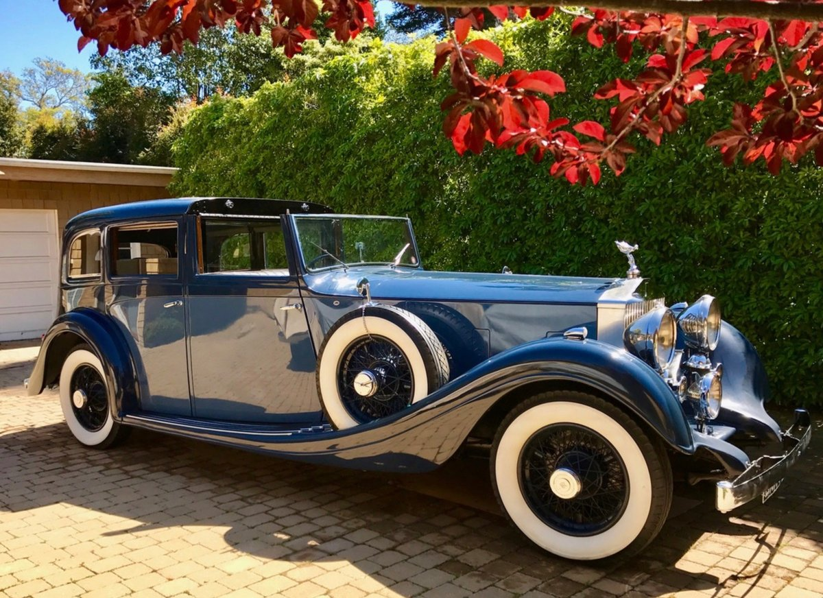 1934 ex/Gracie Fields/Duke of Buccleuch Rolls Royce For Sale (picture 1 of 6)