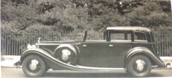 1934 ex/Gracie Fields/Duke of Buccleuch Rolls Royce For Sale (picture 3 of 6)