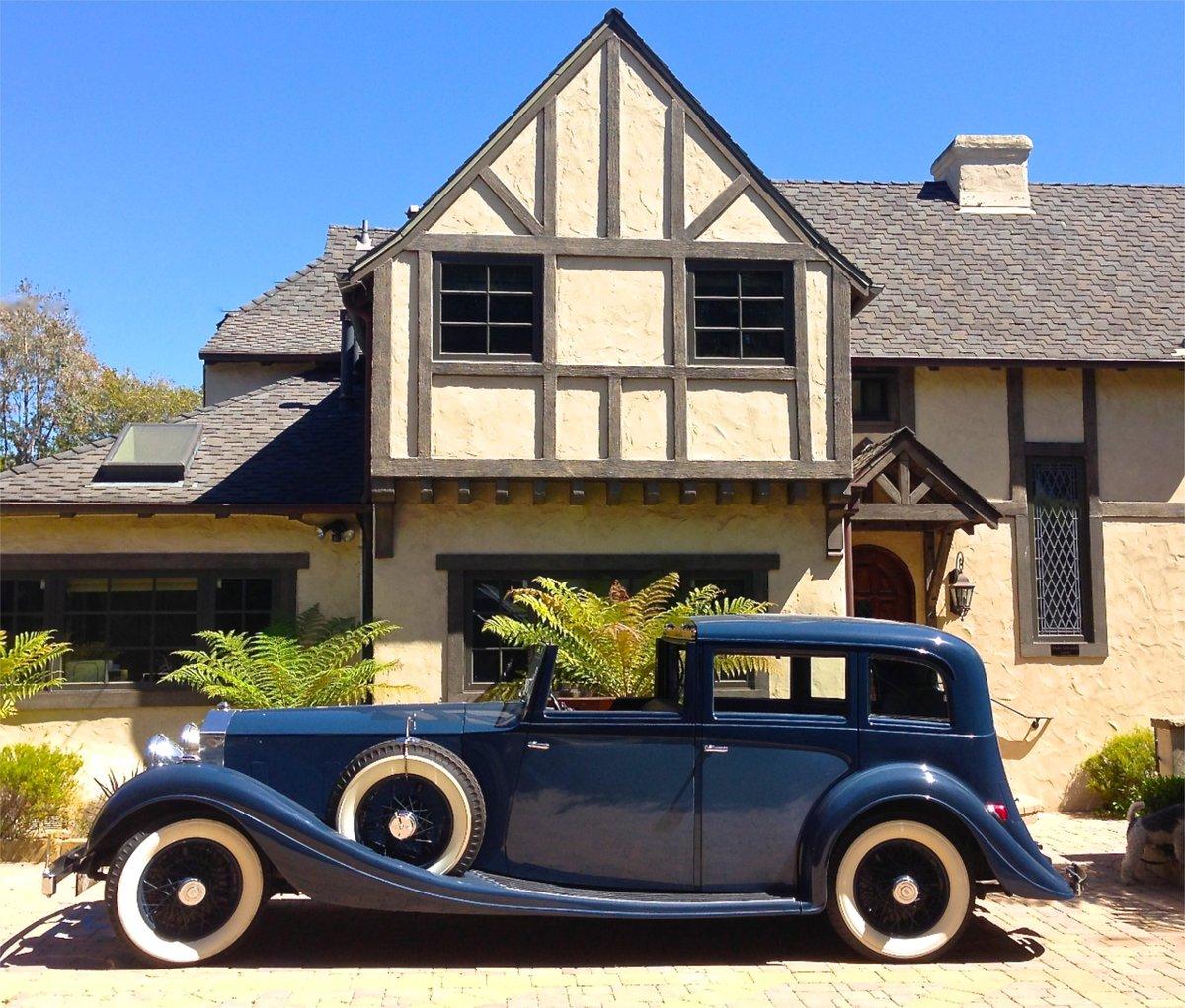 1934 Ex/Gracie Fields/Duke Of Buccleuch Rolls Royce For