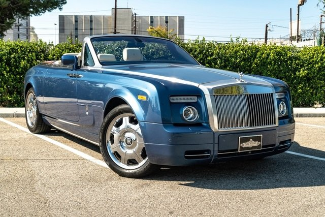 2008 Rolls-Royce Phantom DHC = Blue(~)Ivory 23k miles $156k For Sale (picture 1 of 6)