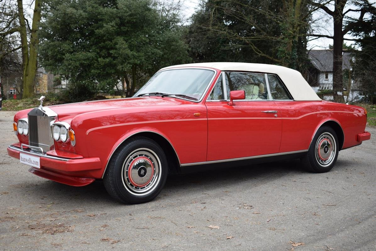 1992 K Rolls Royce Corniche Convertible III in Vermillion For Sale (picture 4 of 6)