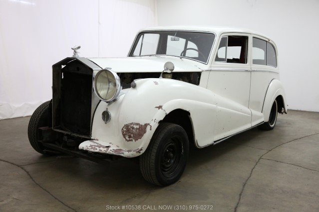 1957 Rolls-Royce Silver Wraith Limousine by Park Ward For Sale (picture 3 of 6)