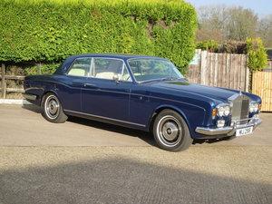 1974 Rolls-Royce Corniche FHC SOLD