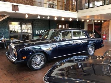 1979 Rolls Royce Silver Shadow II Saloon = Blue driver $32.9 For Sale