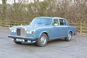 ROLLS ROYCE SILVER SHADOW 2 1979 V REG   LOW MILEAGE For Sale