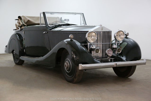1928 Rolls Royce 20HP Drophead Coupe For Sale (picture 1 of 6)