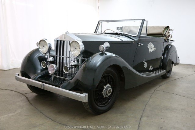 1928 Rolls Royce 20HP Drophead Coupe For Sale (picture 3 of 6)