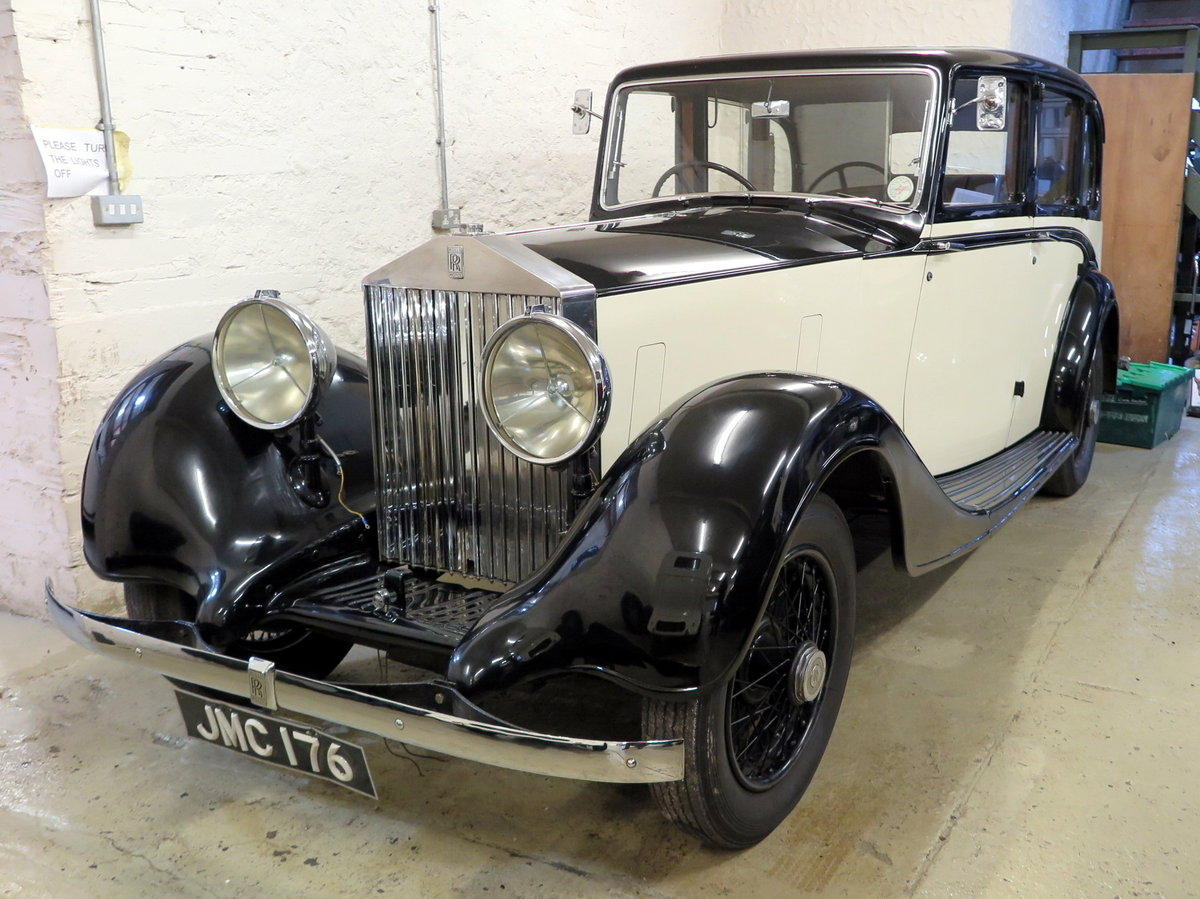 1938 Rolls-Royce 25/30 Park Ward Limousine Project GGR61 SOLD (picture 1 of 6)