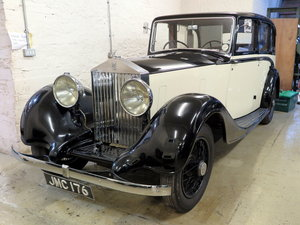 1938 Rolls-Royce 25/30 Park Ward Limousine Project GGR61 SOLD