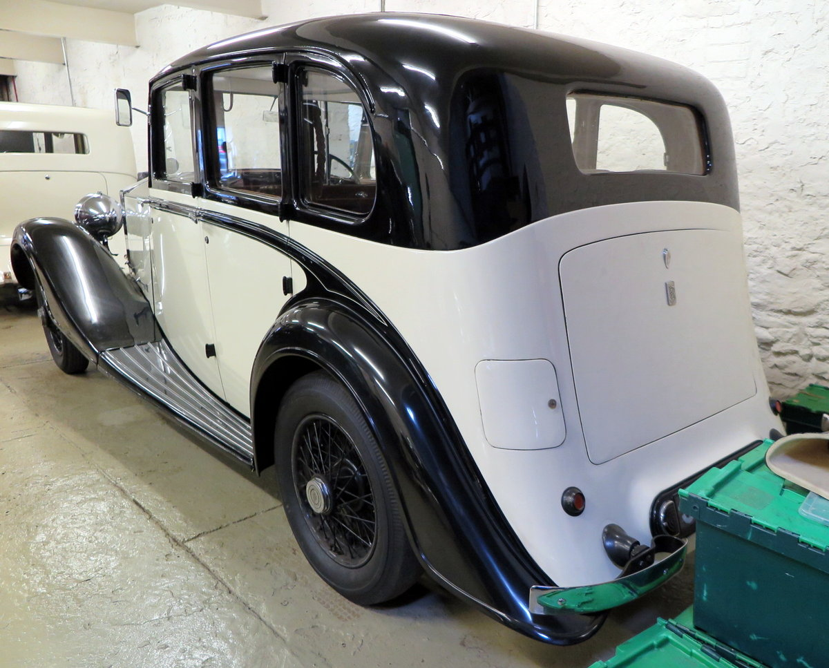 1938 Rolls-Royce 25/30 Park Ward Limousine Project GGR61 SOLD (picture 3 of 6)