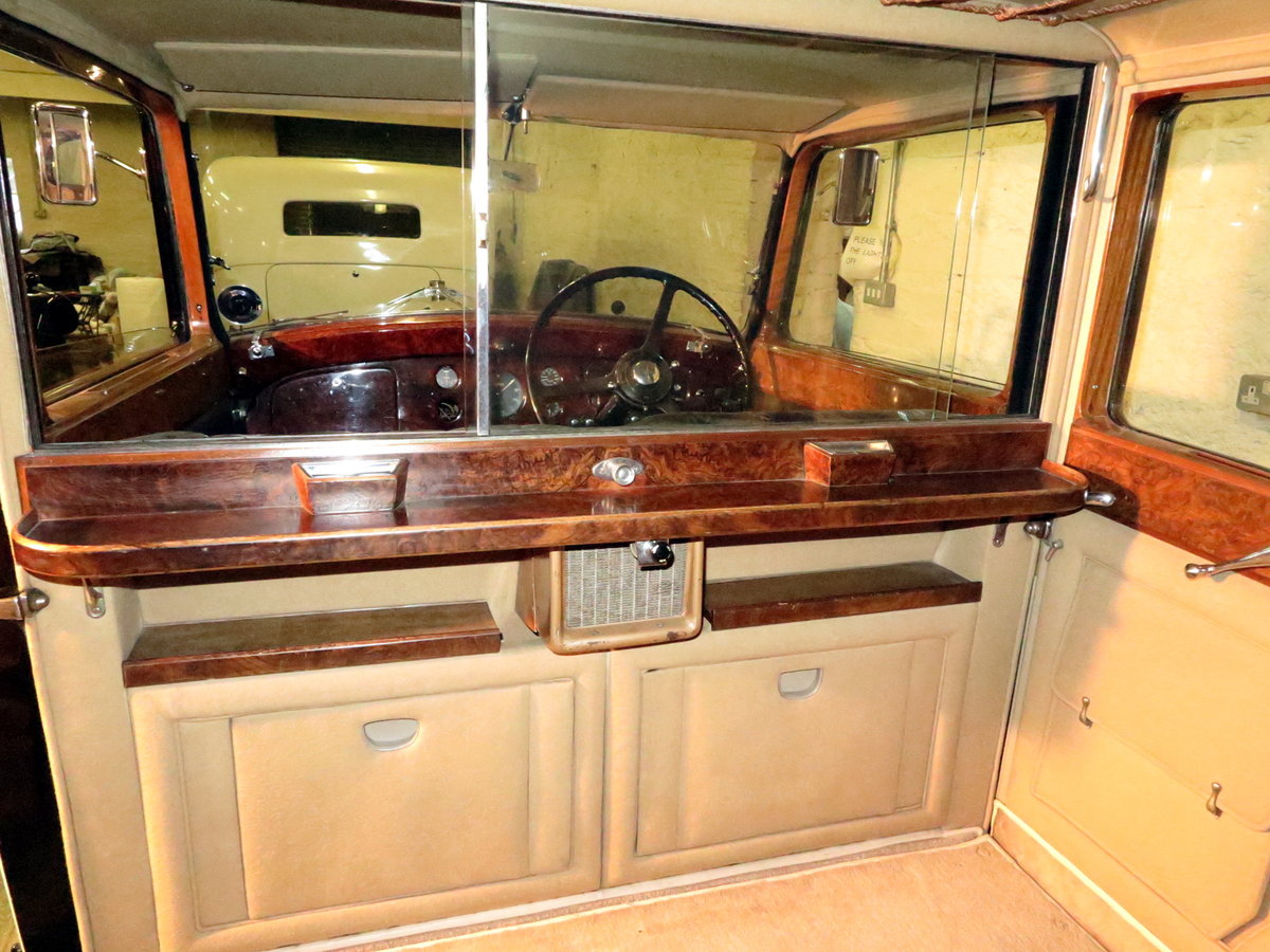 1938 Rolls-Royce 25/30 Park Ward Limousine Project GGR61 SOLD (picture 5 of 6)
