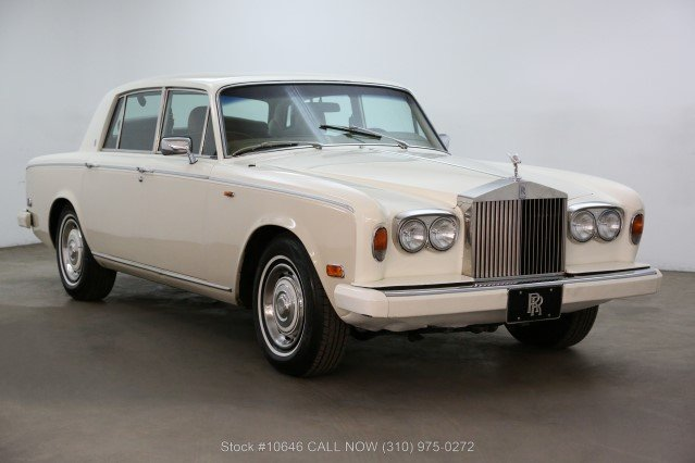 1980 Rolls-Royce Silver Shadow II Left Hand Drive For Sale (picture 1 of 6)
