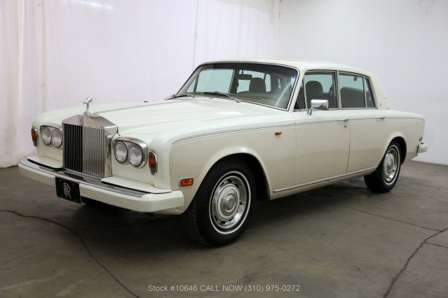 1980 Rolls-Royce Silver Shadow II Left Hand Drive For Sale (picture 3 of 6)