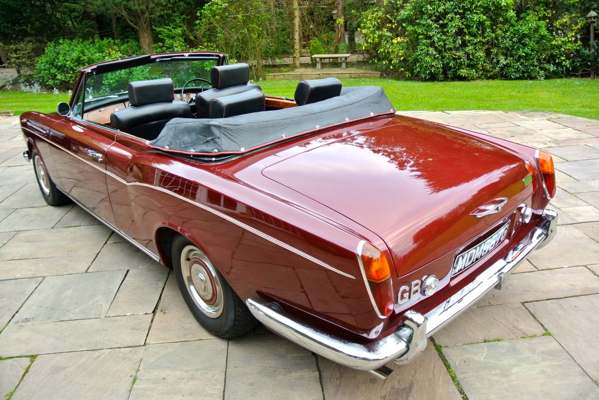 1969 ROLLS ROYCE CORNICHE HISTORY FROM NEW  For Sale (picture 2 of 11)