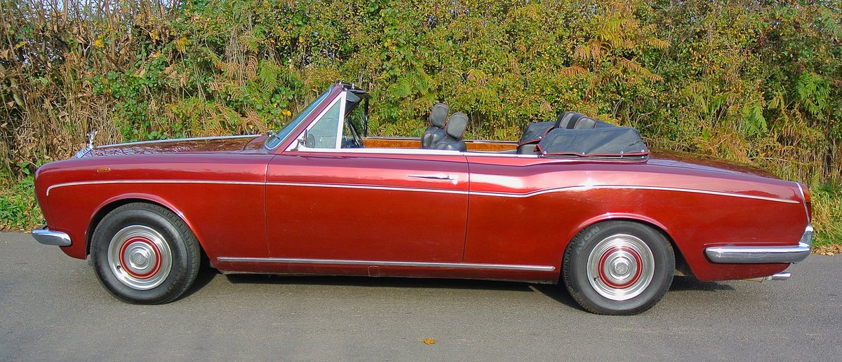 1969 ROLLS ROYCE CORNICHE HISTORY FROM NEW  For Sale (picture 3 of 11)