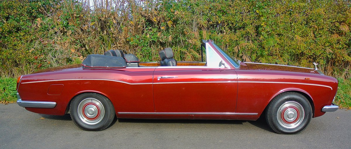 1969 ROLLS ROYCE CORNICHE HISTORY FROM NEW  For Sale (picture 4 of 11)