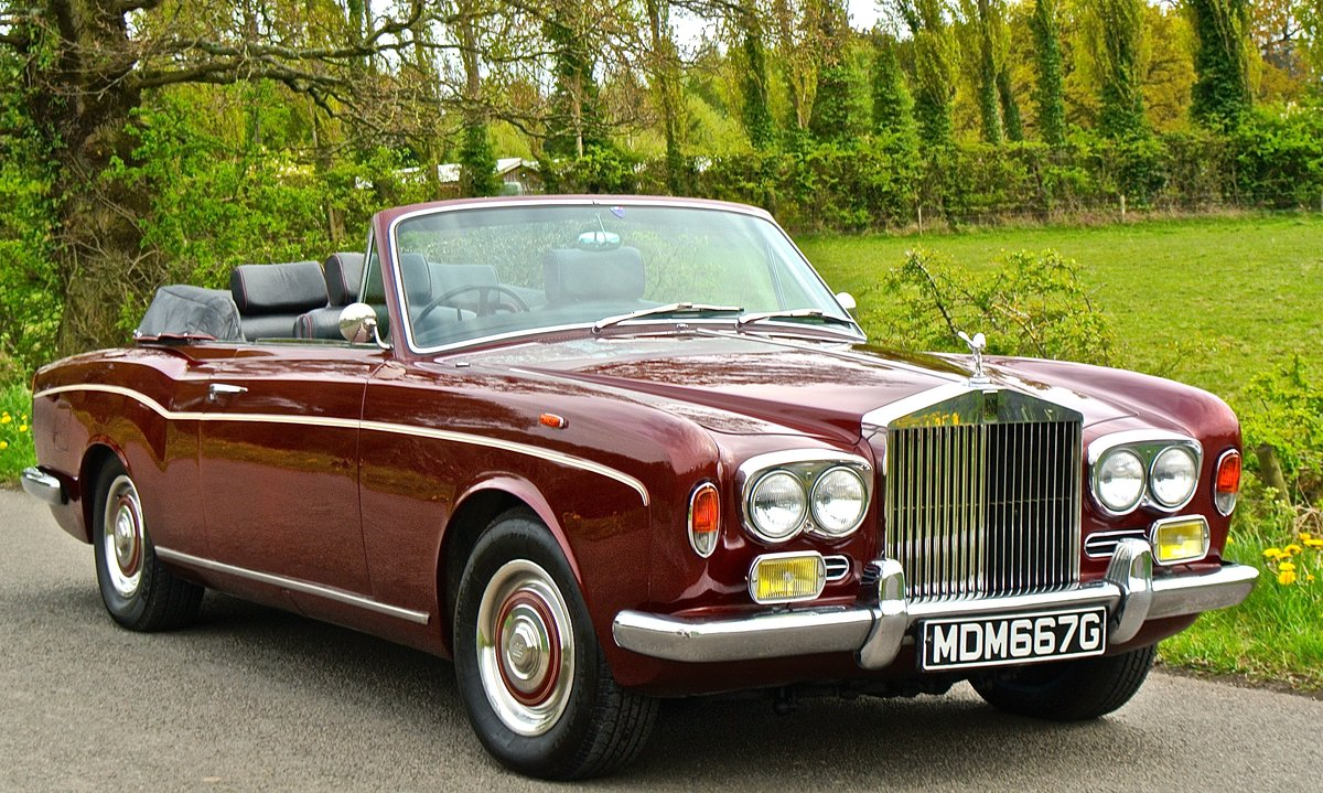 1969 ROLLS ROYCE CORNICHE HISTORY FROM NEW  For Sale (picture 5 of 11)