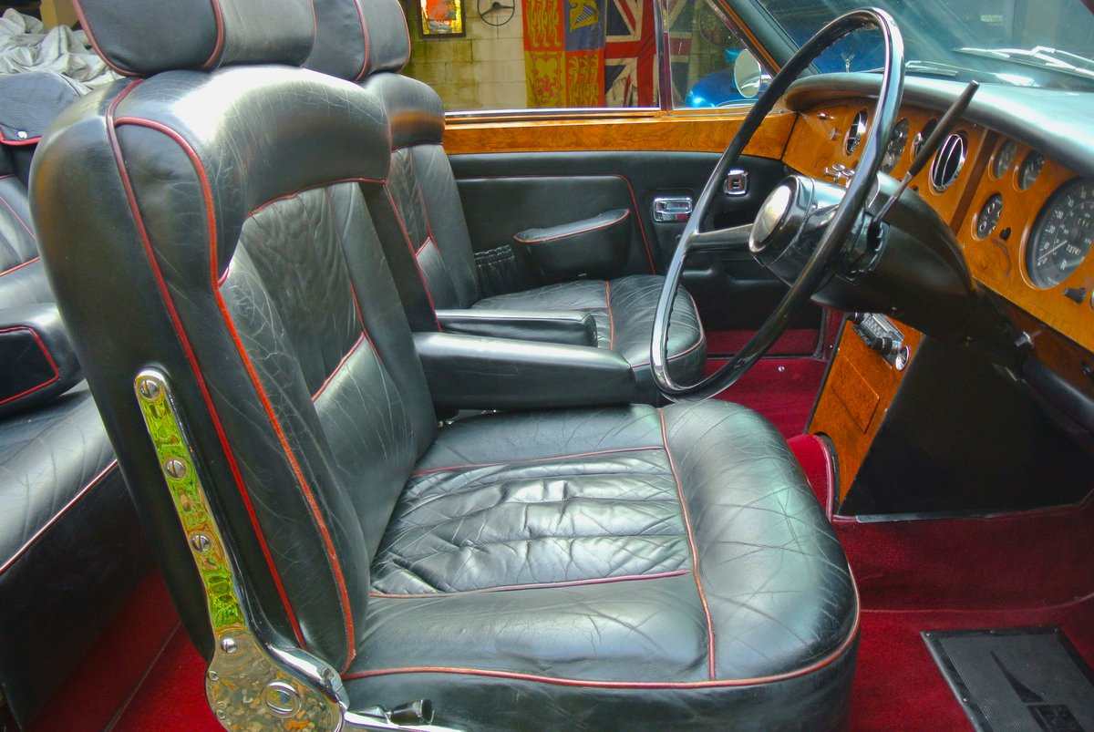 1969 ROLLS ROYCE CORNICHE HISTORY FROM NEW  For Sale (picture 10 of 11)