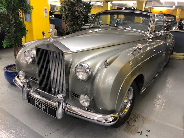 1962 Rolls-Royce  Silver Cloud 11 Mulliner convertible For Sale (picture 5 of 6)