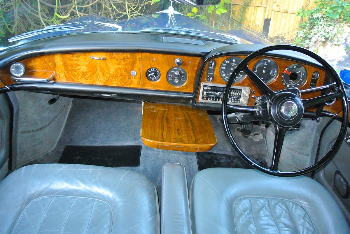 1965 ROLLS ROYCE SILVER CLOUD III CHINESE EYE For Sale (picture 9 of 11)
