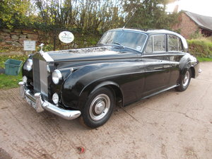 1961 ROLLS ROYCE CLOUD II REQUIRING LIGHT REFRESHMENT For Sale