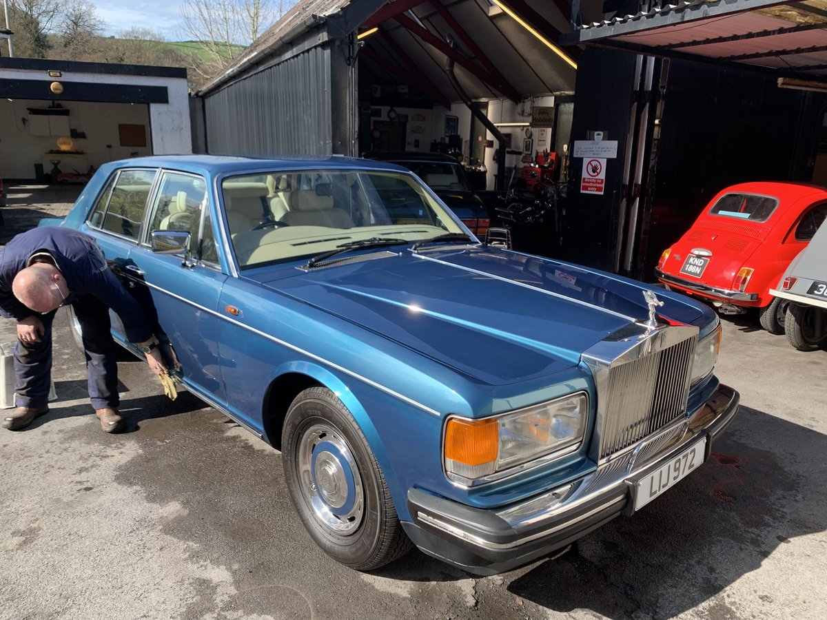 1988 Rolls Royce Silver Spirit For Sale (picture 2 of 6)