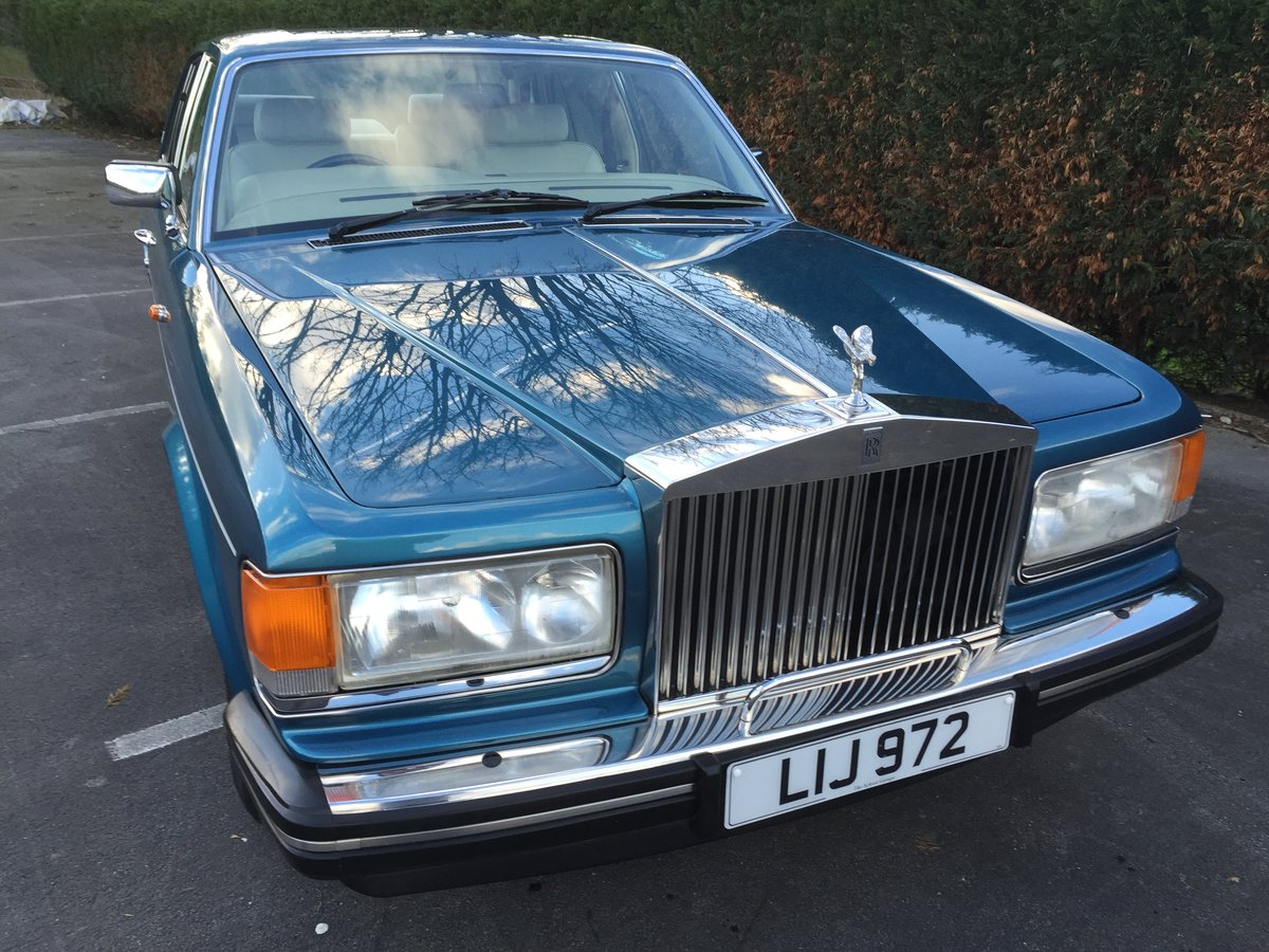 1988 Rolls Royce Silver Spirit For Sale (picture 6 of 6)
