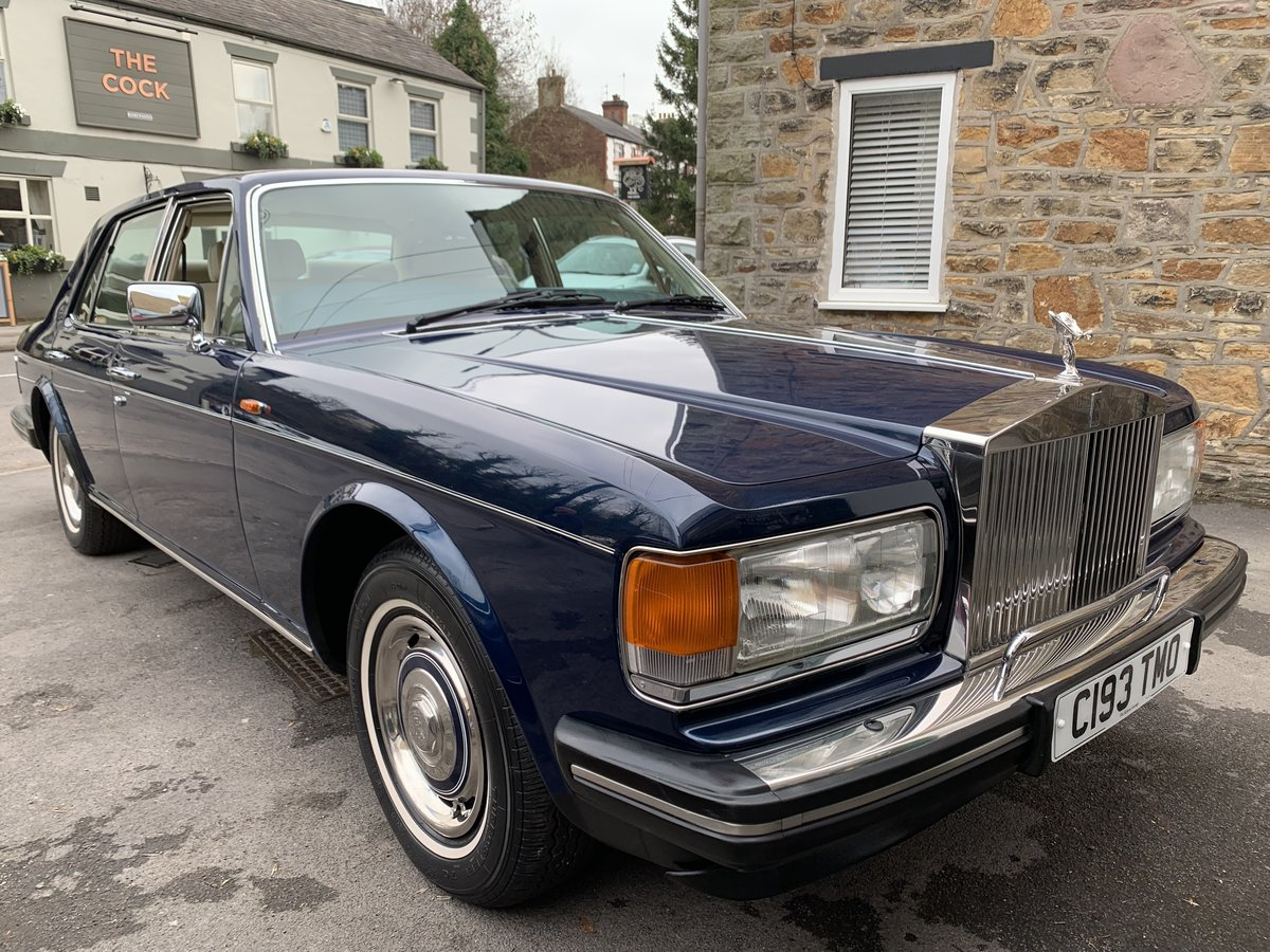 1986 Rolls Royce Silver Spirit SOLD (picture 1 of 6)
