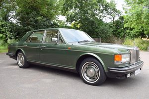 1984 A Rolls Royce Silver Spirit in Forest Green For Sale