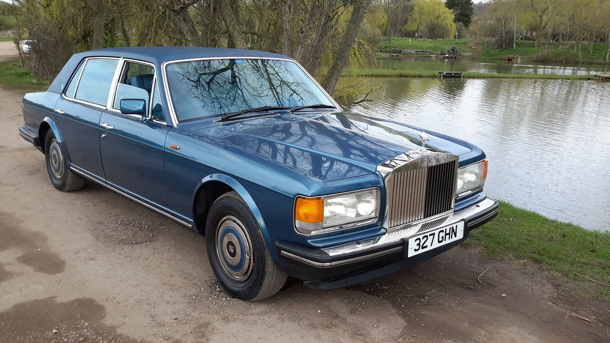 1985 ROLLS ROYCE SILVER SPUR  58000 MILES WITH SERVICE HISTORY SOLD (picture 1 of 6)