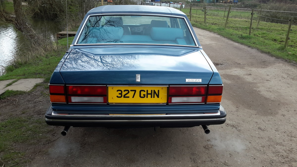 1985 ROLLS ROYCE SILVER SPUR  58000 MILES WITH SERVICE HISTORY SOLD (picture 2 of 6)