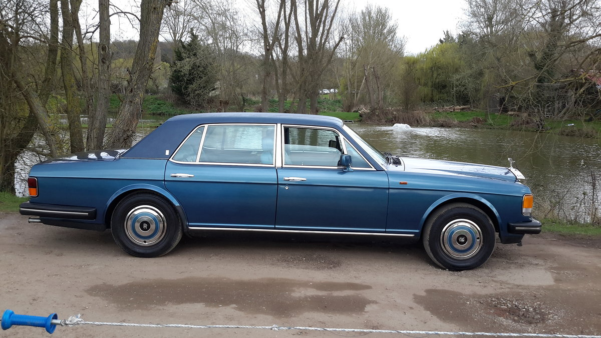 1985 ROLLS ROYCE SILVER SPUR  58000 MILES WITH SERVICE HISTORY SOLD (picture 3 of 6)