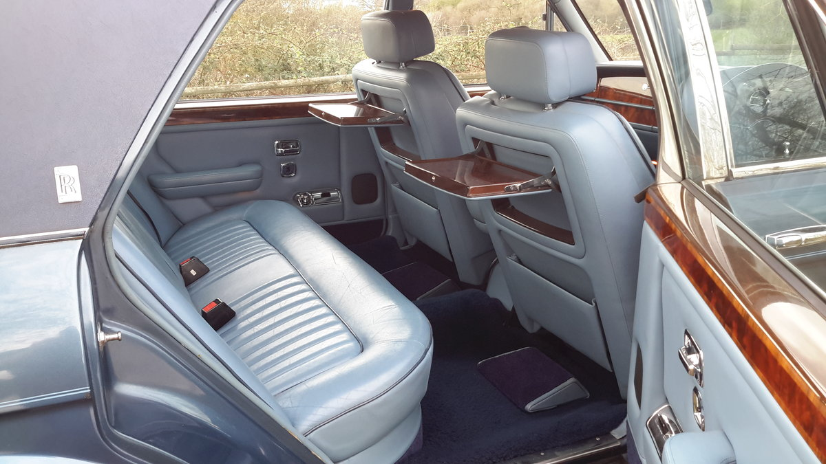 1985 ROLLS ROYCE SILVER SPUR  58000 MILES WITH SERVICE HISTORY SOLD (picture 5 of 6)